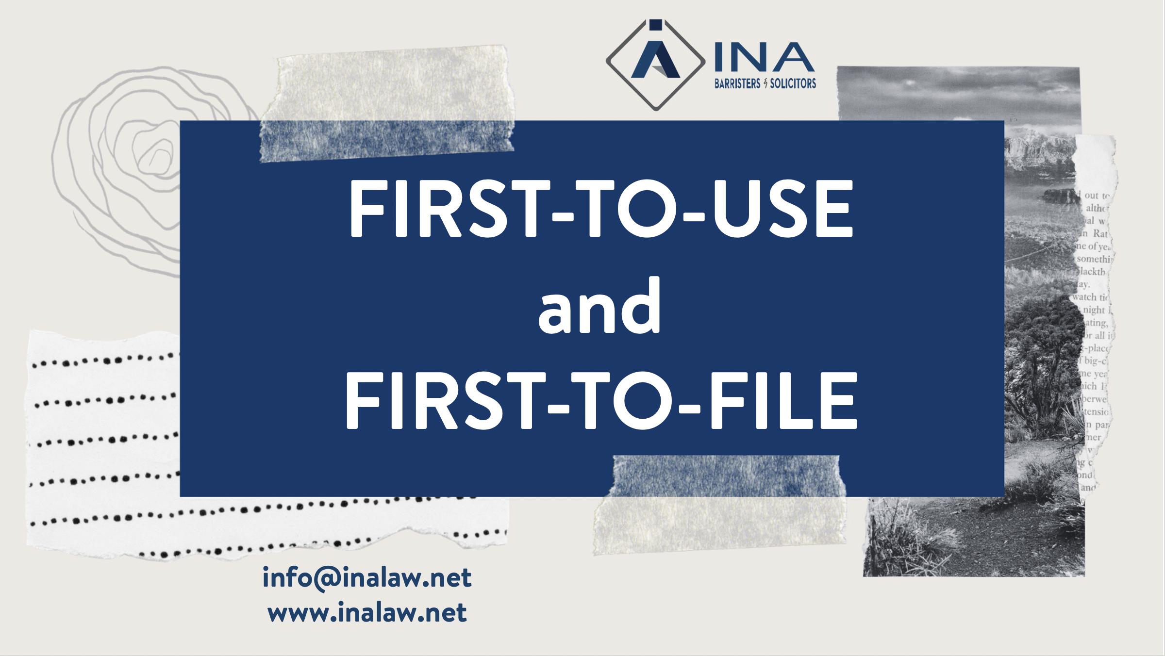 Nguyên tắc First-to-Use và First-to-File trong đăng ký nhãn hiệu