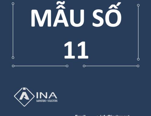 Mẫu số 11 – Đề nghị hỗ trợ hộ kinh doanh gặp khó khăn do dịch COVID-19